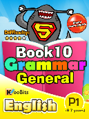 Grammar General - Primary 1 - Book 10