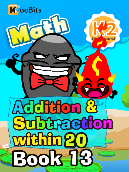 Addition & Subtraction within 20 - K2 - Book 13