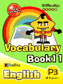 Vocabulary - Primary 3 - Book 11