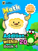 Addition within 20 - K2 - Book 4