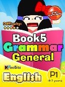 Grammar - Primary 1 - Book 5