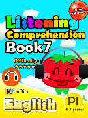 Listening Comprehension - Primary 1 - Book 7