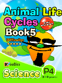 Animal Life Cycles - P4 - Book 5
