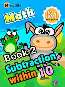 Subtraction within 10 - K1 - Book 2
