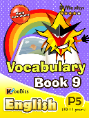 Vocabulary - Primary 5 - Book 9