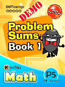 Problem Sums - Primary 5 - KooBits Assessment Books Demo