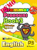 Grammar - Pronouns - Primary 3 - Book 3