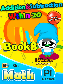 Addition & Subtraction within 20 - P1 - Book 8