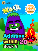 Addition within 20 - K2 - Book 8