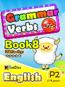 Grammar - Verbs - Primary 2 - Book 8