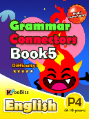 Grammar - Connectors - Primary 4 - Book 5