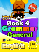 Grammar - Primary 3 - Book 4