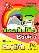 Vocabulary - Primary 4 - Book 7