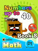 Numbers up to 40 - P1 - Book 8