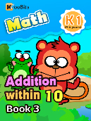 Addition within 10 - K1 - Book 3