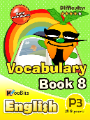 Vocabulary - Primary 3 - Book 8