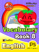 Vocabulary - Primary 5 - Book 8