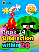 Subtraction within 20 - K2 - Book 14