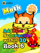 Addition & Subtraction within 30 - K2 - Book 6