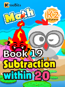 Subtraction within 20 - K2 - Book 19