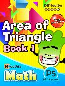 Area of Triangle - P5 - Book 1