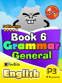 Grammar - Primary 3 - Book 6