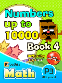 Numbers up to 10000 - P3 - Book 4