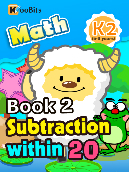 Subtraction within 20 - K2 - Book 2