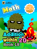 Addition within 20 - K2 - Book 18