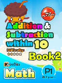 Addition & Subtraction up to 10 - P1 - Book 2