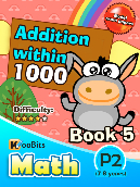 Addition within 1000 - P2 - Book 5