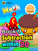 Subtraction within 20 - K2 - Book 9