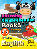 Listening Comprehension - Primary 4 - Book 5