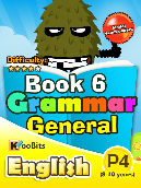 Grammar - Primary 4 - Book 6