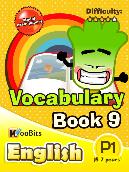 Vocabulary - Primary 1 - Book 9