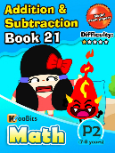 Addition & Subtraction - P2 - Book 21