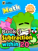 Subtraction within 20 - K2 - Book 4