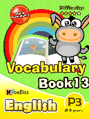 Vocabulary - Primary 3 - Book 13