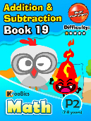Addition & Subtraction - P2 - Book 19