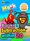 Subtraction within 20 - K2 - Book 11