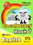 Vocabulary - Primary 3 - Book 7
