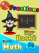 Fractions - P6 - Book 1