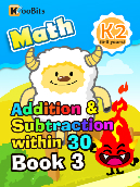 Addition & Subtraction within 30 - K2 - Book 3