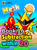 Subtraction within 20 - K2 - Book 16