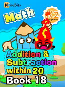 Addition & Subtraction within 20 - K2 - Book 18