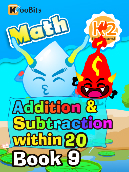 Addition & Subtraction within 20 - K2 - Book 9
