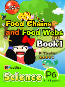 Food chains and Food webs - Primary 6 - Book 1