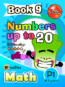 Numbers up to 20 - P1 - Book 9