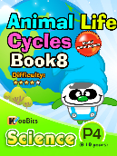 Animal Life Cycles - P4 - Book 8