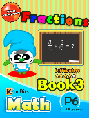 Fractions - P6 - Book 3